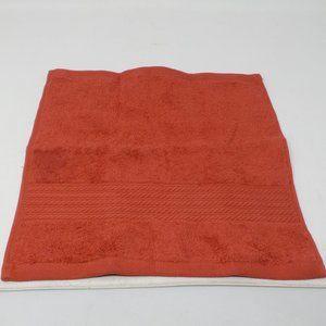 Lauren Ralph Lauren Washcloth Cranberry- 2pk.